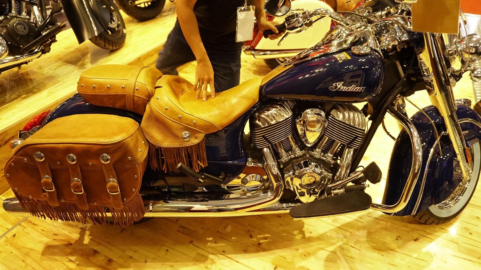 Indian Chief Vintage thực sự là một chiếc mô tô quá sang trọng, hoàn hảo