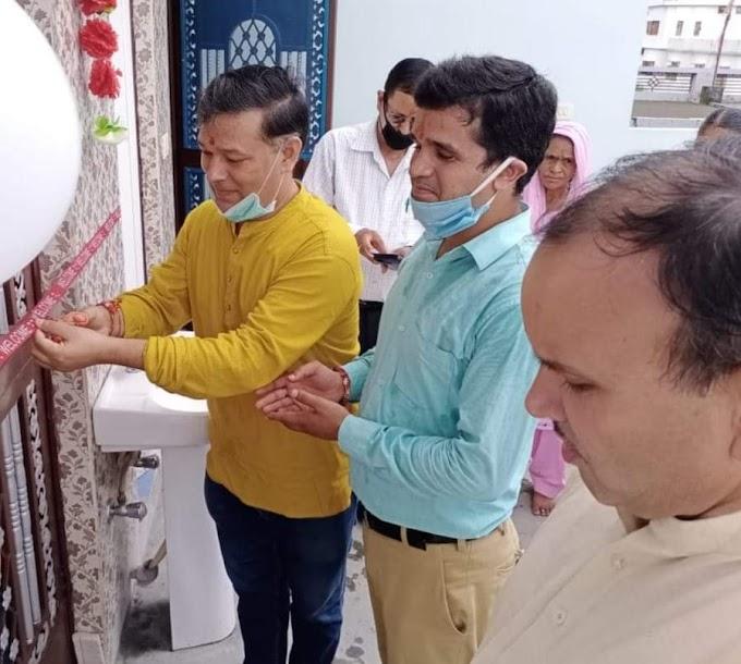 डॉ महेंद्र राणा ने किया डॉ.नरेश मेहरा के आयुर्वेद के वैलनेस केन्द्र का उद्घाटन