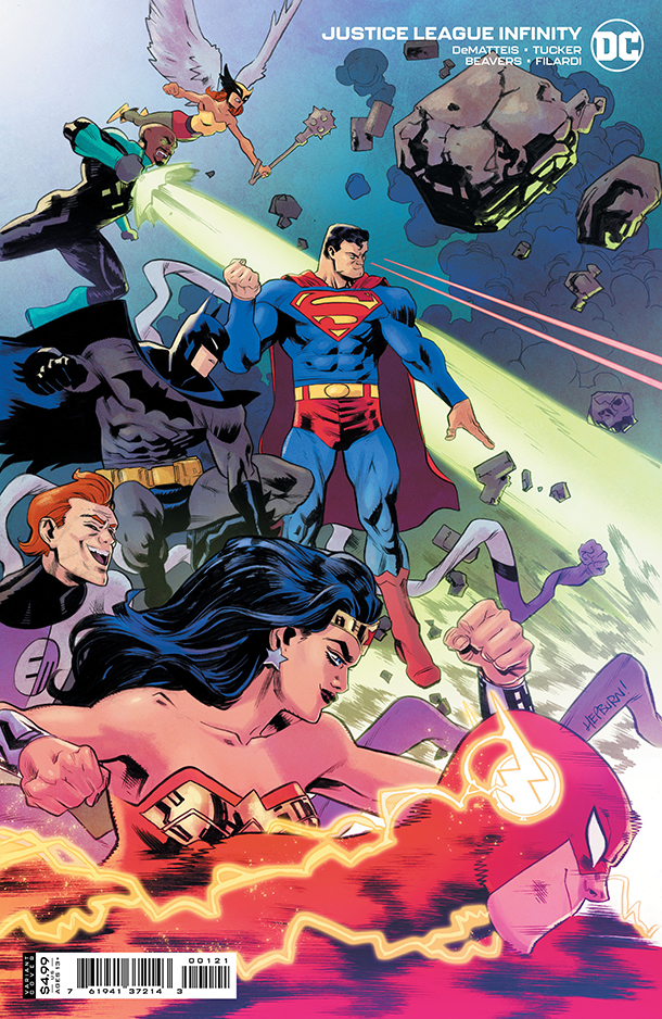 Justice League Infinity 1 - Cover 2