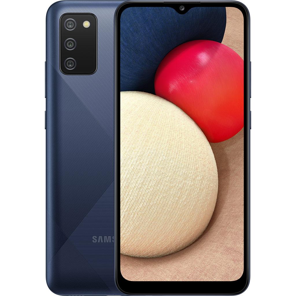 Điện thoại Samsung Galaxy A02s 64GB Xanh