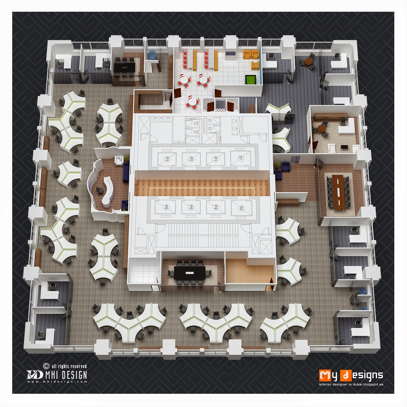 Top Interior Design Firm In Dubai: Office Interior Designs In Dubai