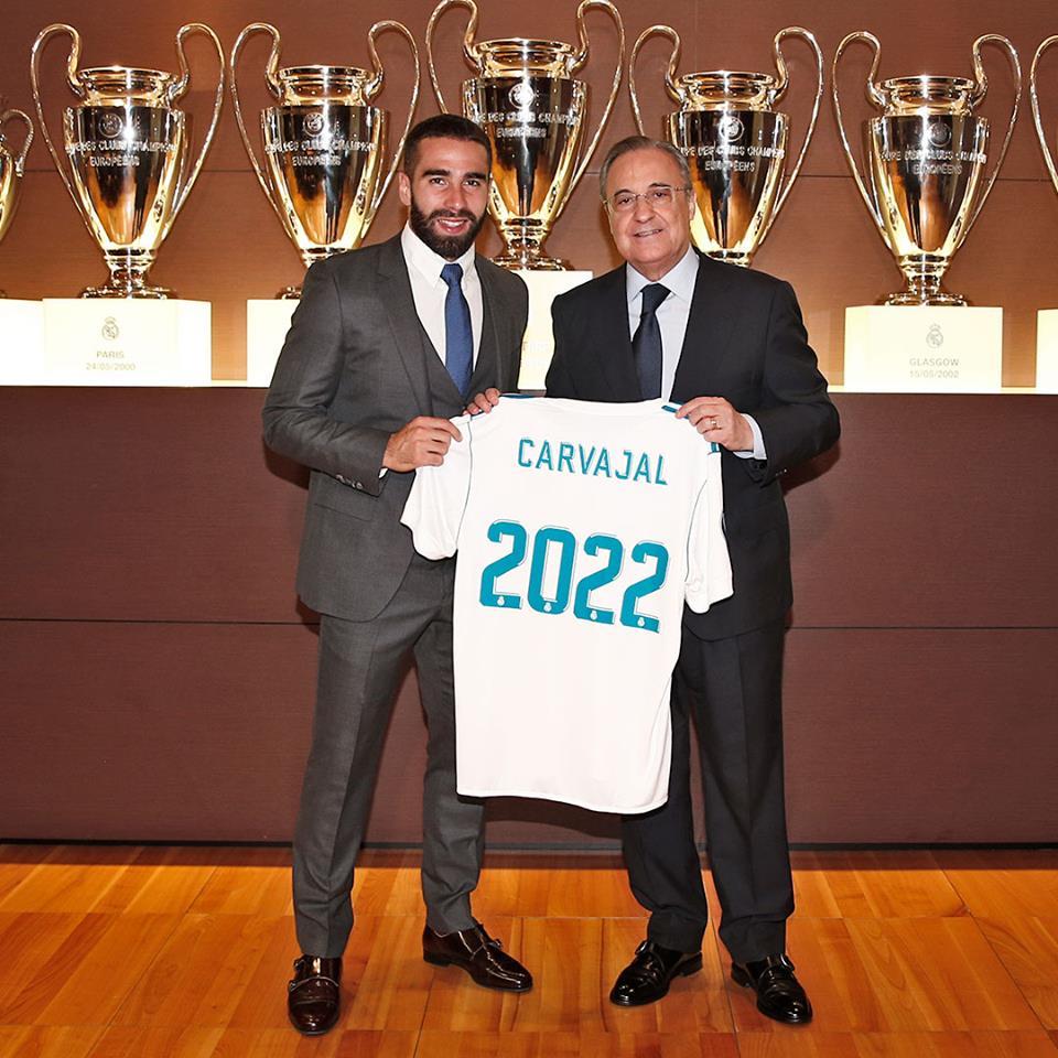 ¿Cuánto mide Dani Carvajal? - Real height Carvajal-renovacion-2022