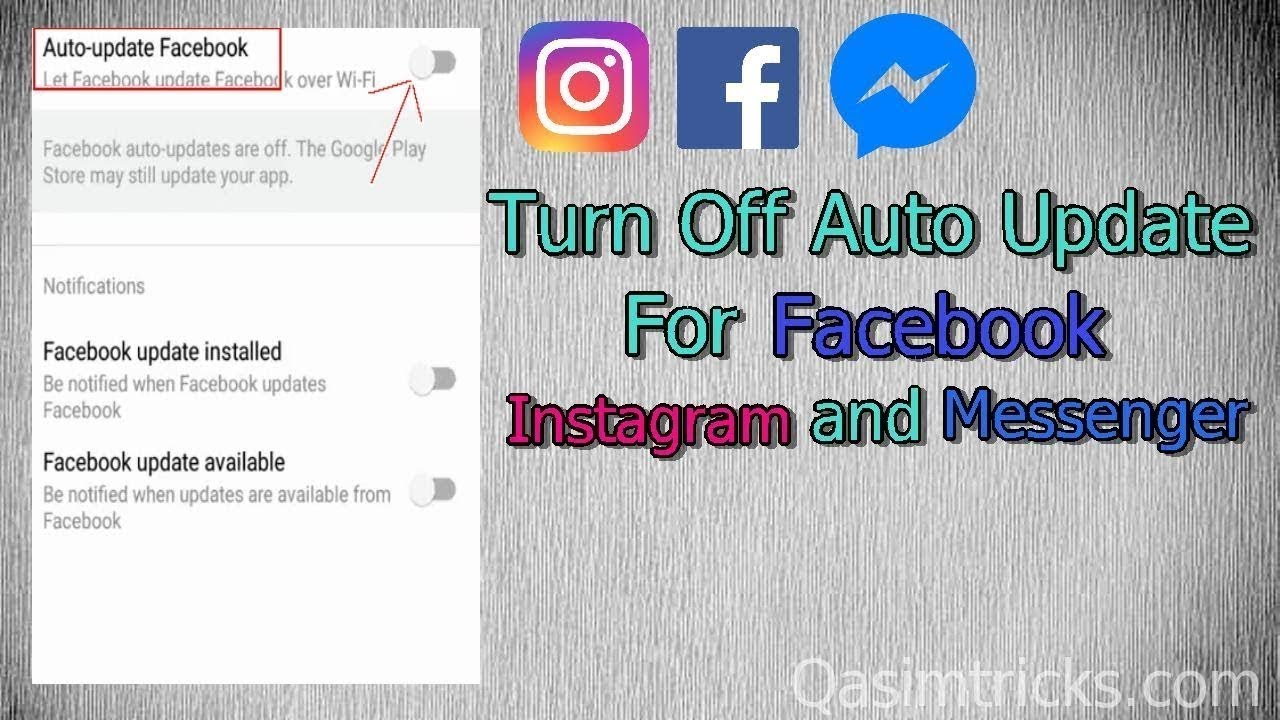 How to stop auto login on facebook app
