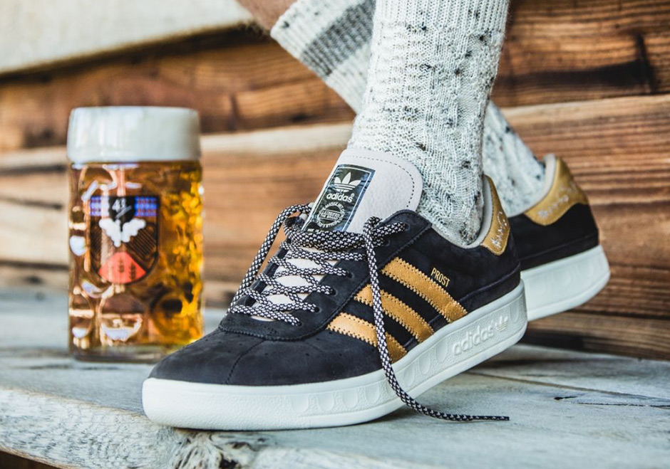adidas Originals is celebrating this year's Oktoberfest in style by  bringing back their classic lifestyle model, the adidas Munchen, but with a  twist.