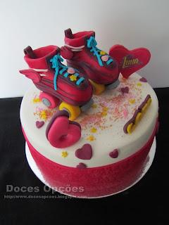bolo aniversario patins luna bragança