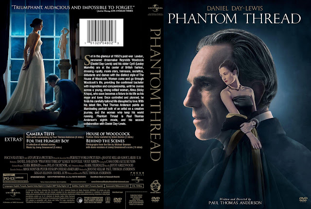 Phantom Thread DVD Cover