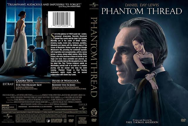 Phantom Thread DVD Cover