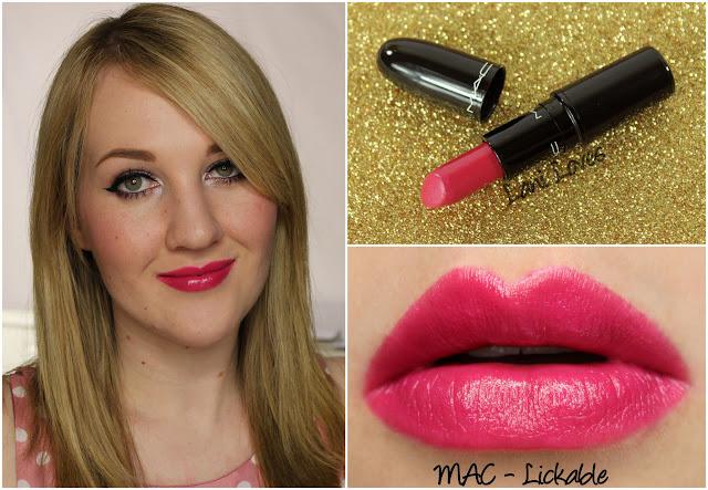 MAC Lickable lipstick swatch