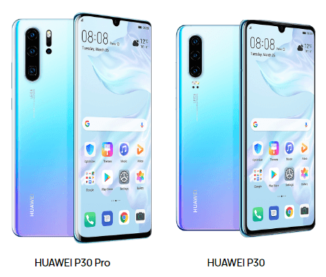 Huawei P30 And P30 Pro Unveiled With Full HD OLED Display