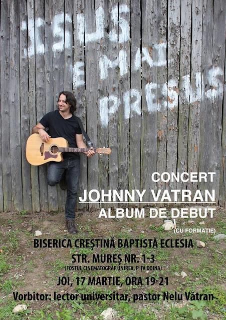 Nelu si Johnny Vatran la Biserica Eclesia Timisoara - 17 martie 2016