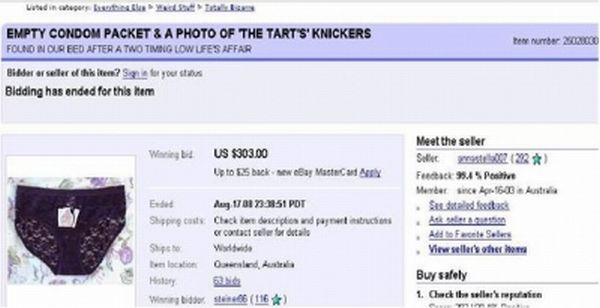 Funny Ebay Auctions Damn Cool Pictures