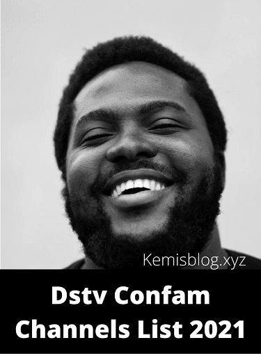 DStv Comfam channels 2021