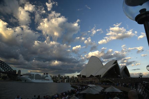 SAILS IN THE SUNSET, Sydney Opera House, Australia