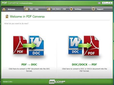 PDF Conversa Professional Edition with Promo Registration Link