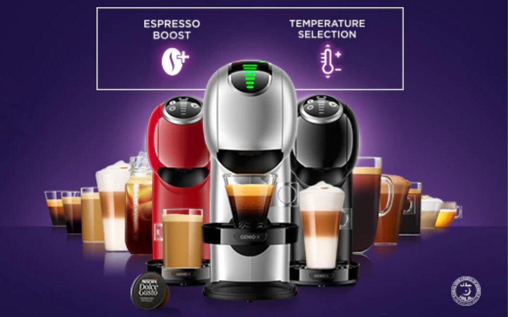 Dapatkan pelbagai barangan kopi bermutu Di Dolce Gusto
