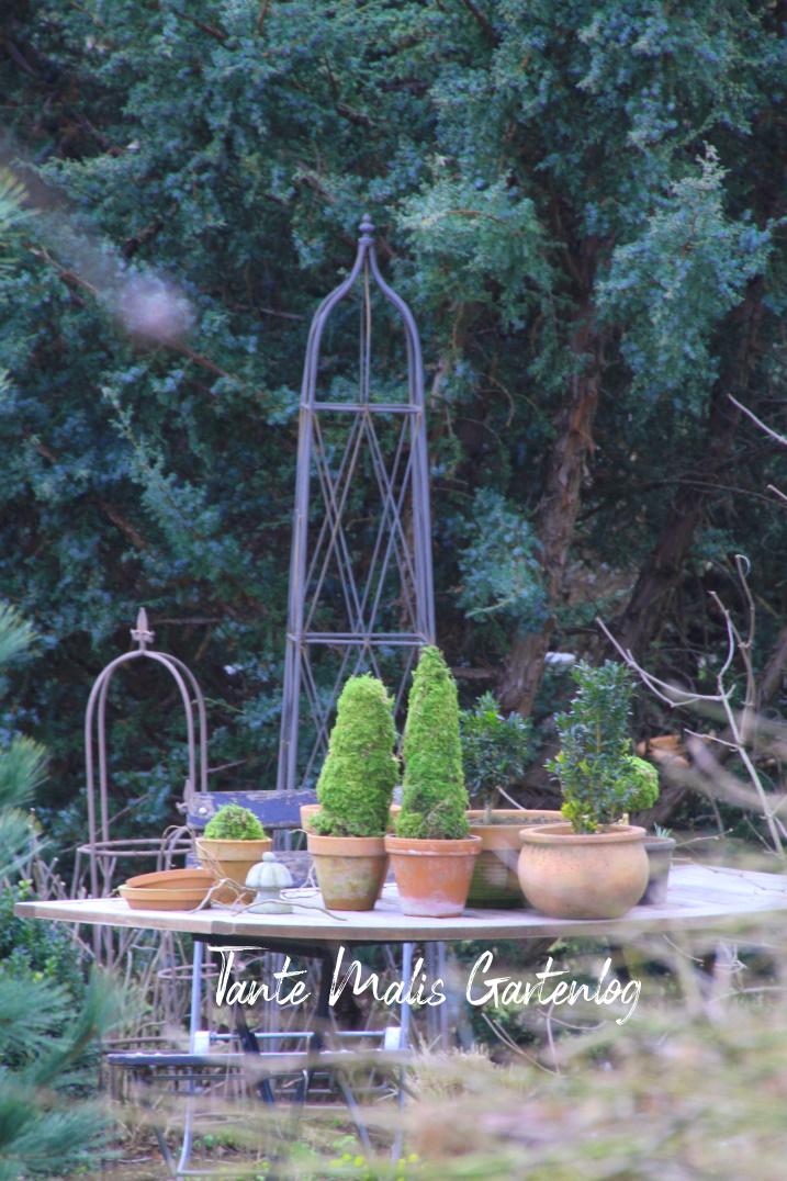 early spring garden decor