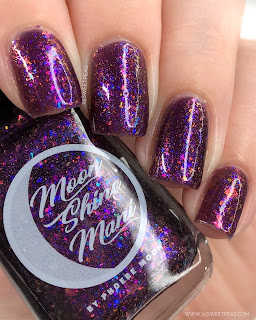 Moon Shine Mani Garden of Shadows 25 Sweetpeas
