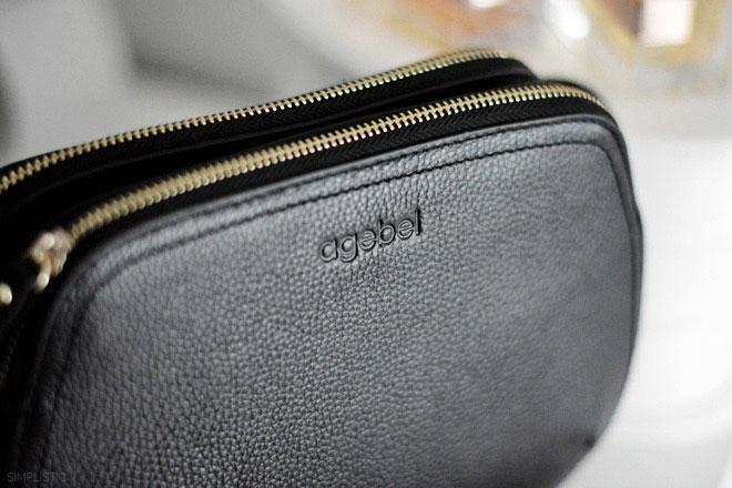Czarna, skórzana torebka Agebel – porównanie z MIMI LARGE Bag