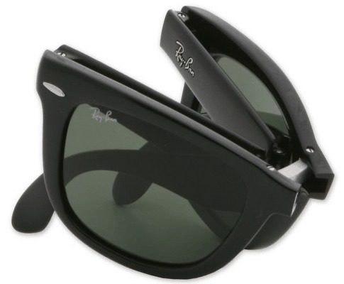 código promocional 2772b 4e9da Gafas de sol plegables: guarda tus Rayban en un bolsillo ...