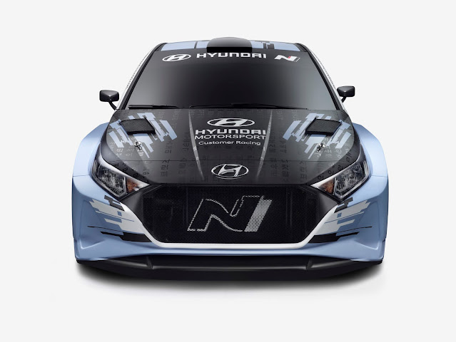 latest spec Hyundai i20 R5 Rally car for sale