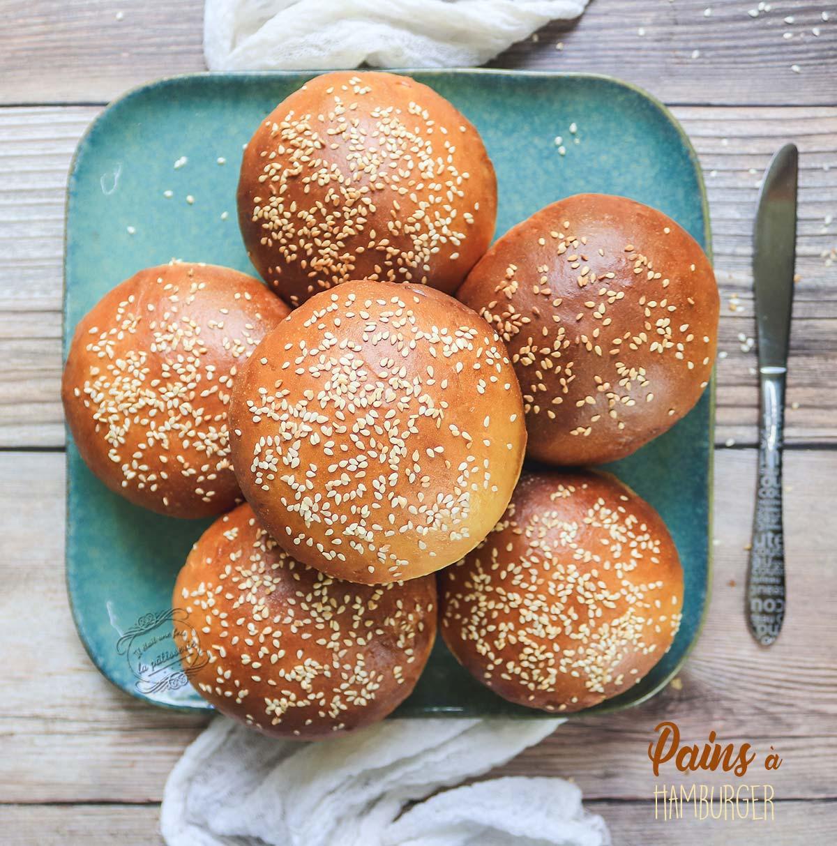pains-hamburger-recette
