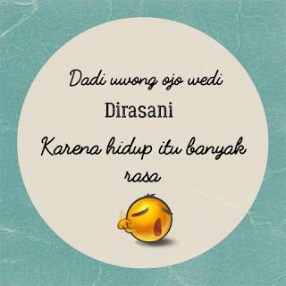 Kumpulan Status Wa Lucu Bahasa Jawa Lengkap dengan Artinya