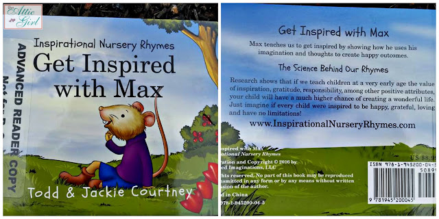 Get Inspired with Max, Todd and Jackie Courtney, books for toddlers, books about positive self-image for children