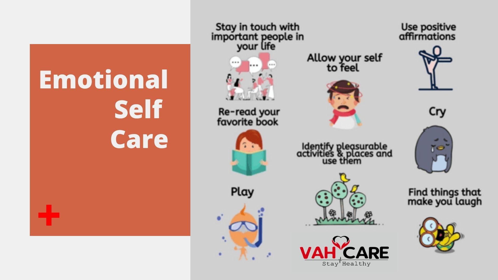 Emotinal self care Vahcare