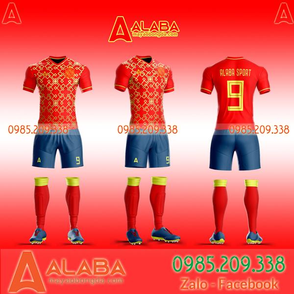 May áo Tây Ban Nha theo yêu cầu