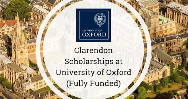 منحة Clarendon المقدمة من جامعة أوكسفورد لدراسة الماجستير والدكتوراه في المملكة المتحدة (ممولة بالكامل)