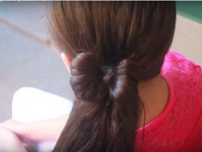 Easy Hairstyle for School Girls