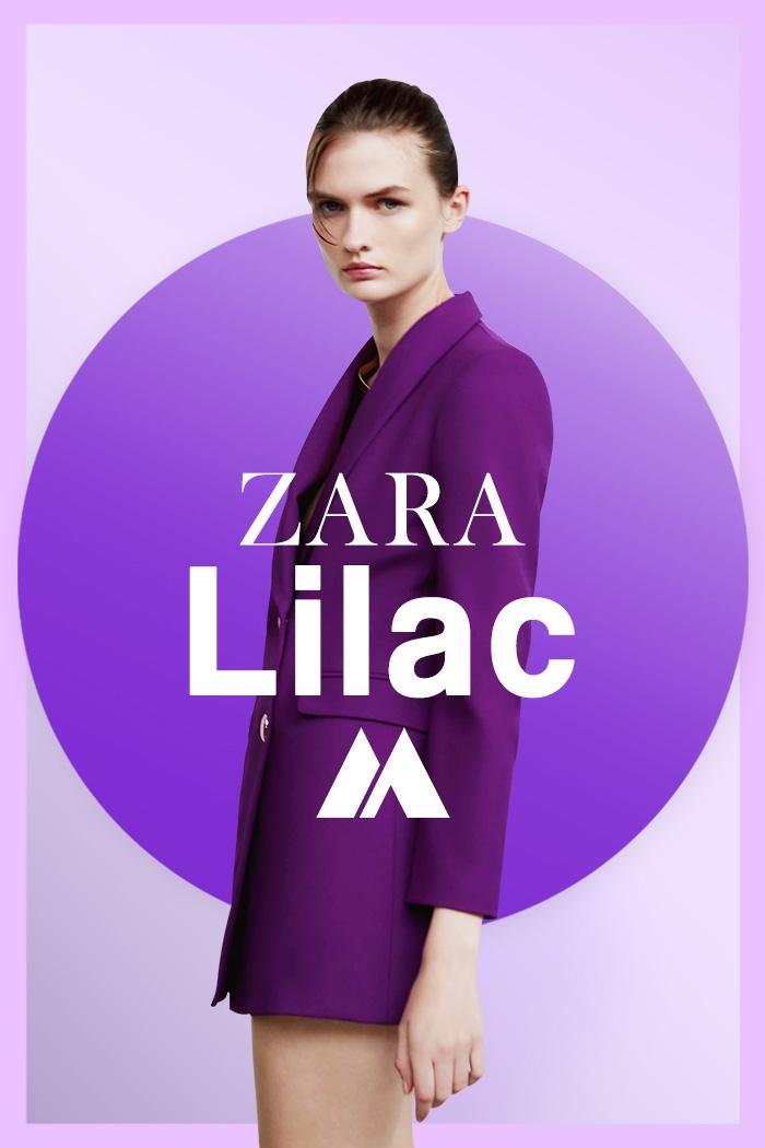 Lilac Zara otoño invierno 2021