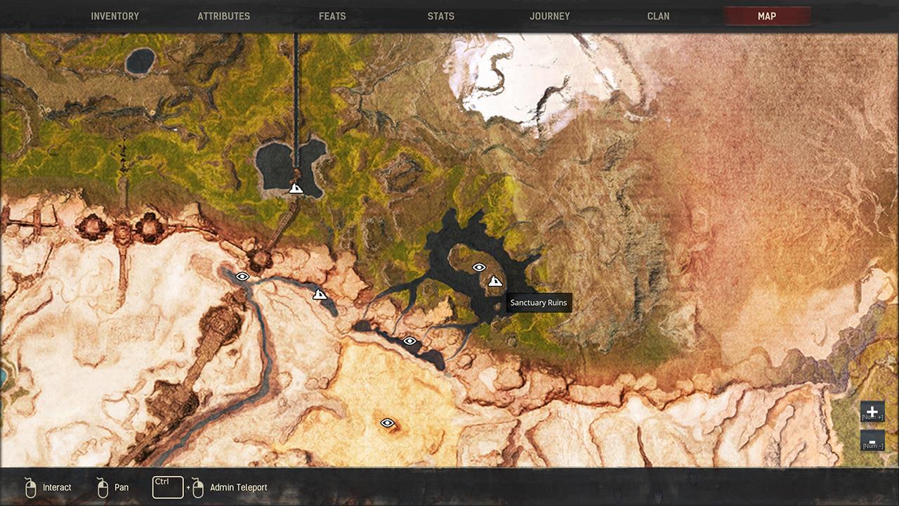 Conan Exiles Volcano Thralls Map