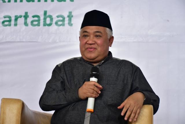 Din Syamsuddin Minta Paslon Pilpres Berkomitmen Bela Palestina