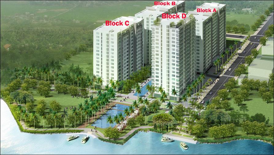 Căn hộ 4S River Side Linh Đông Thủ Đức HCM-Block D
