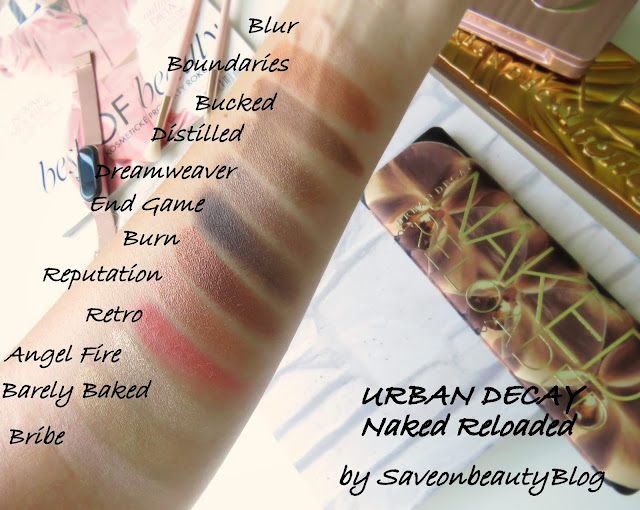 URBAN DECAY Naked Reloaded odtiene
