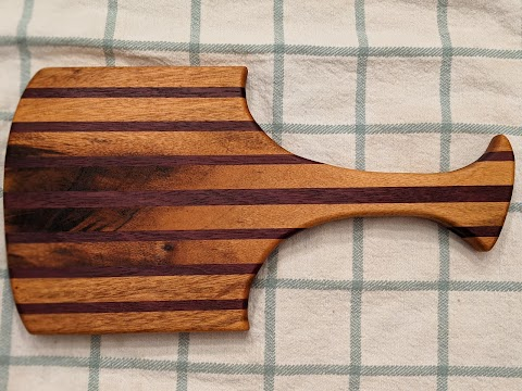 Purpleheart and ?? Charcuterie board - $40