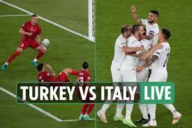 إيطاليا تقسو تركيا بثلاثية نظيفة  في افتتاح يورو 2021