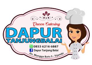 qeen catering dapur tanjungbalai - percetakan tanjungbalai - logo label