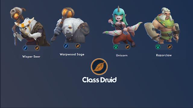 Kemampuan Synergi Dari Class Druid Auto Chess Mobile - Cepat Upgrade Bintang!
