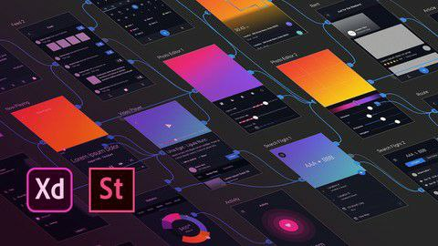 Adobe XD: UI & UX Design with 8 real world project 2020 [Free Online Course] - TechCracked