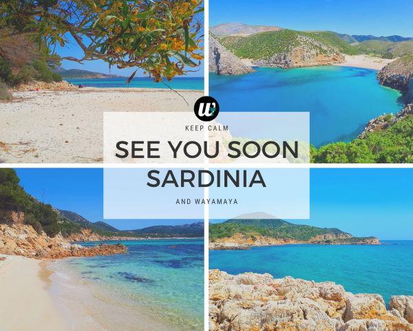 See You Soon Sardinia, Italy | wayamaya travel