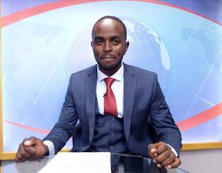 Mt Kenya Tv news anchor. PHOTO | BANA
