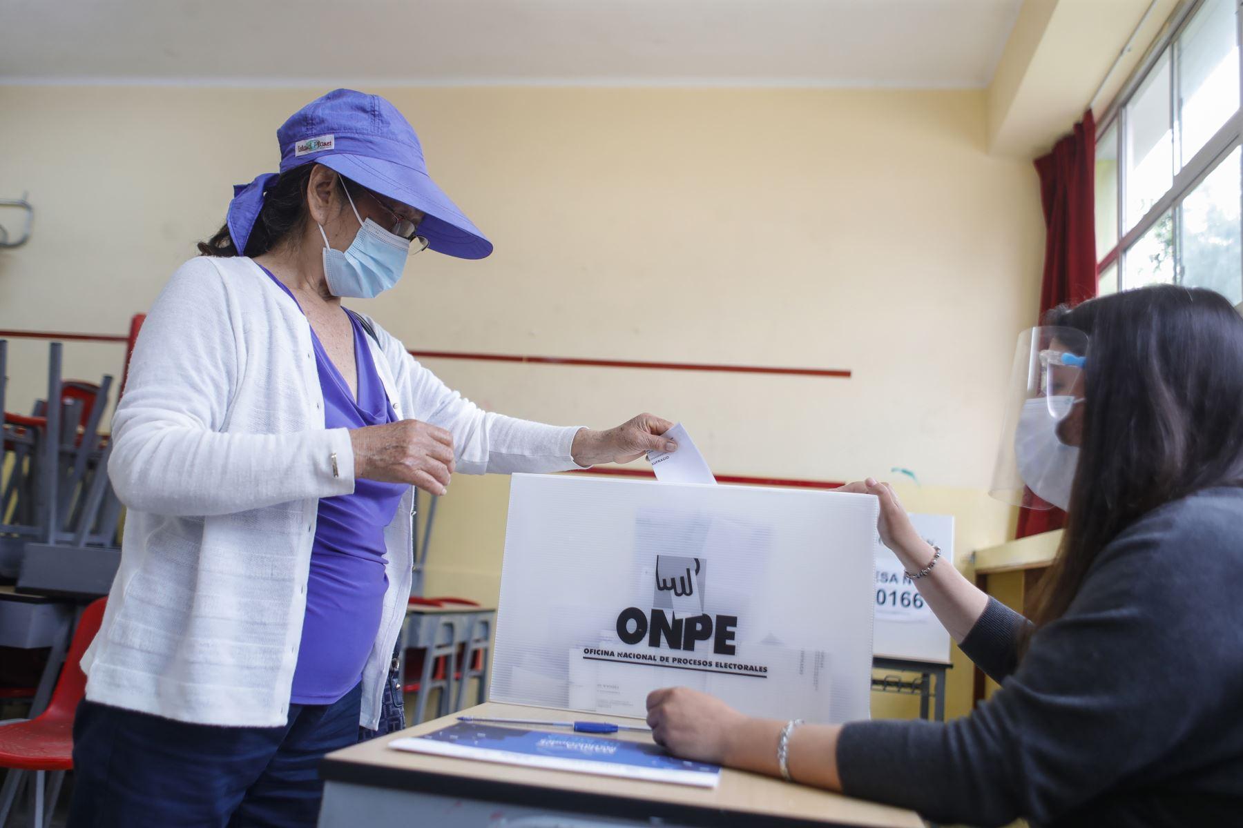 ONPE: Primeros resultados de las elecciones internas : ELECCIONES 2021