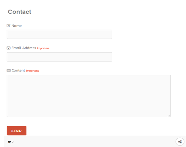 How to Add Contact Us Page in Blogger