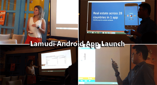 Lamudi Android App Launch Press Release