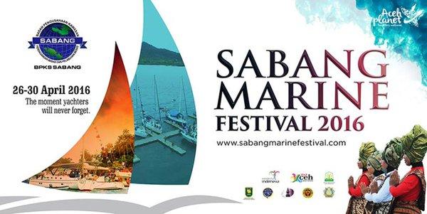 Pemerintah Propinsi Aceh Mengelar Sabang Marine Festival 2016