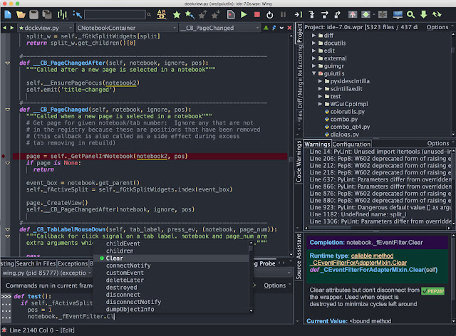 Wing IDE Professional 7 Full version for free