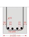 maximum and minimum spacing of Beam, Column, Slab & Footing