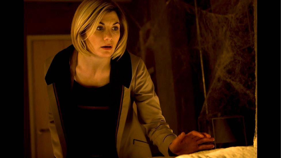 Doctor Who Season 11 Episode 4 Arachnids in the UK the doctor and the web